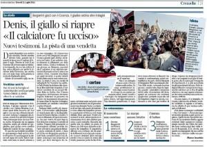 Denis - Corriere della Sera 21 luglio 2011