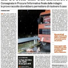 Bergamini ucciso così. La svolta dei carabinieri – da 'La Gazzetta dello Sport' – 22/05/12