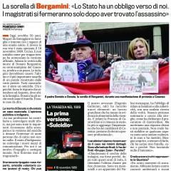 Presto sapremo chi ha ucciso Donato – da 'La Gazzetta dello Sport' – 18/09/12