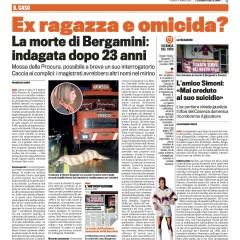 L'amico Simoni: «Mai creduto al suo suicidio» – da 'la Gazzetta dello Sport' – 17/05/13