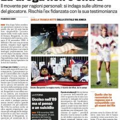 Omicidio Bergamini, la droga non c'entra – da 'La Gazzetta dello Sport' – 18/04/13