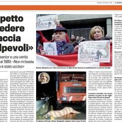 Aspetto di vedere in faccia i colpevoli – da 'La Gazzetta dello Sport' – 19/04/13
