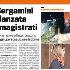 Caso Bergamini: l'ex fidanzata evita i magistrati – da 'la Gazzetta dello Sport' – 19/11/13
