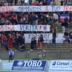 Cosenza, le luci della città su un caso italiano: quello di Bergamini – da 'Fantagazzetta.com' – 17/11/13