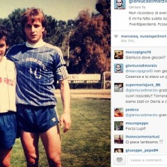 """Gianluca Di Marzio: """"Non ricordavo questa foto, l'ho ritrovata. E mi ha fatto battere il cuore"""""""