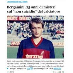 Bergamini, 25 anni di misteri e bugie – da 'Corriere.it' – 17/11/14