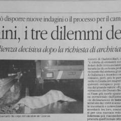 Bergamini, i tre dilemmi del giudice – da 'il Quotidiano del Sud' – 29/01/15