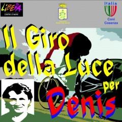 """""""Il Giro della Luce per Denis""""- Cosenza/Roseto Capo Spulico 30 maggio 2015"""