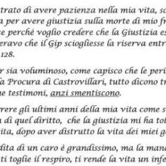 """""""E intanto il tempo se ne va"""". Lettera aperta di Donata Bergamini – 01/07/15"""